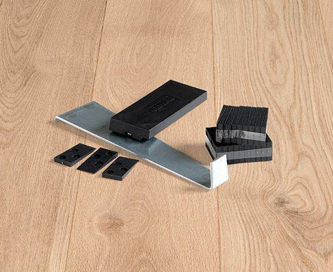 De legrichting van parket laminaat of vinylplanken bouwinfo