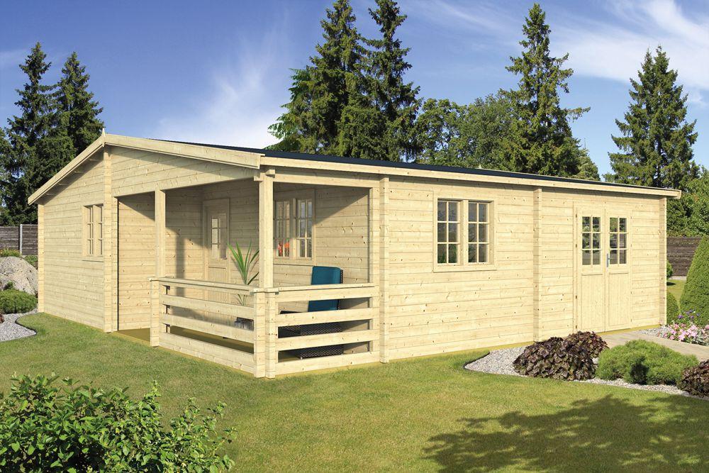 Houten Huis Bouwpakket : Prefab houten woning blokhut huis hout bouwpakket kopen
