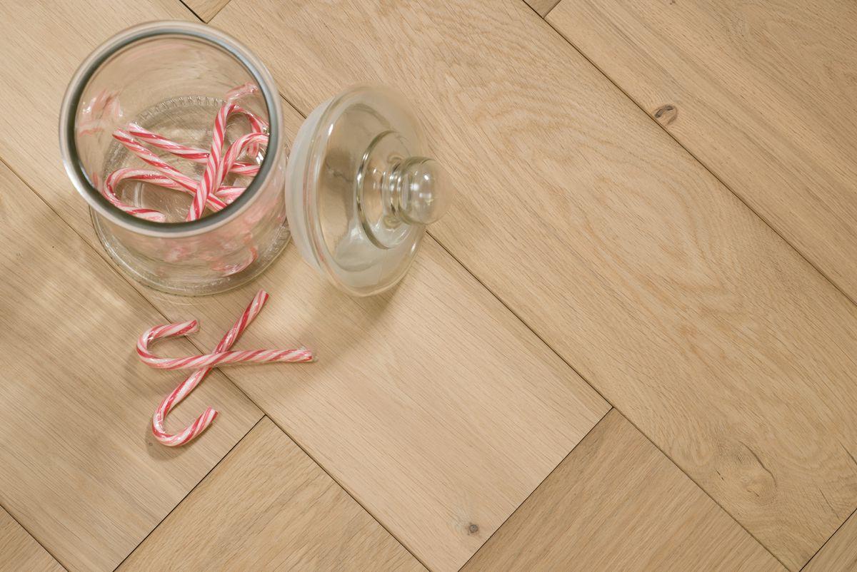 Onbehandelde Houten Vloer : Onbehandelde eiken houten parket vloeren licht eik natuur