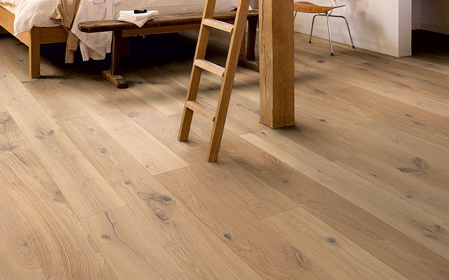 Wit Eiken Parket : Parket vloeren eiken houten lamel vloer rustiek noestvrij eik