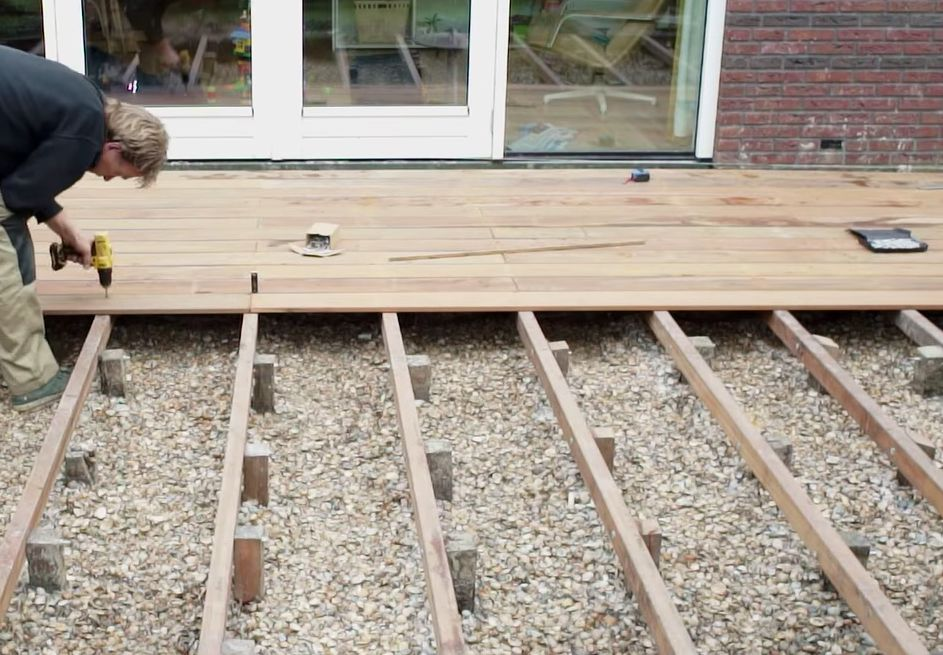 video vlonder bouwen tips hardhout terras maken