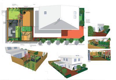Tuinontwerp d inspiratie standaard tuin voorbeelden