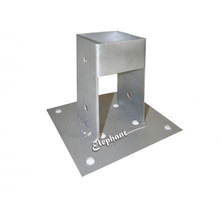 paalhouder  cm elephant aluminium paal steun voet paalvoet