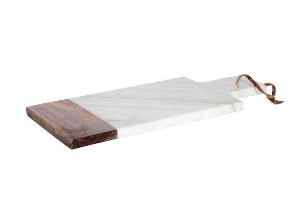 Cosy & trendy snij serveerplank marmer hout kopen? cookinglife