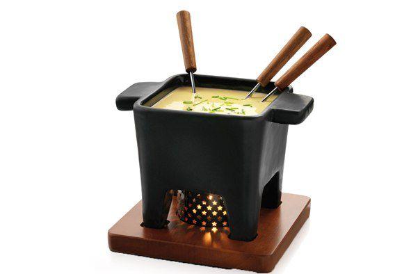Boska Taste Tapas Kaasfondue Zwart 400 ml