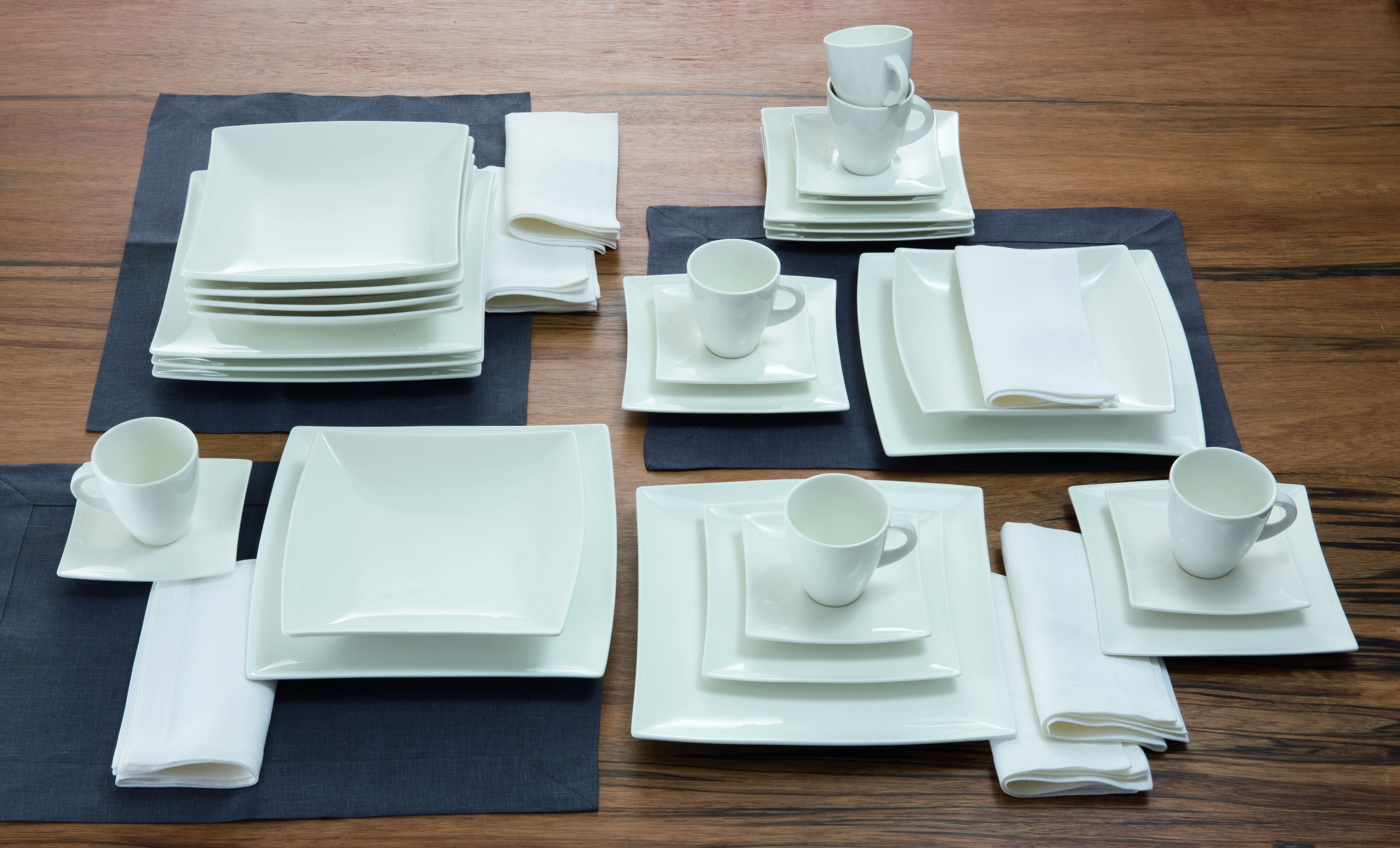 maxwell williams diep bord vierkant east meets west winkel cookinglife. Black Bedroom Furniture Sets. Home Design Ideas