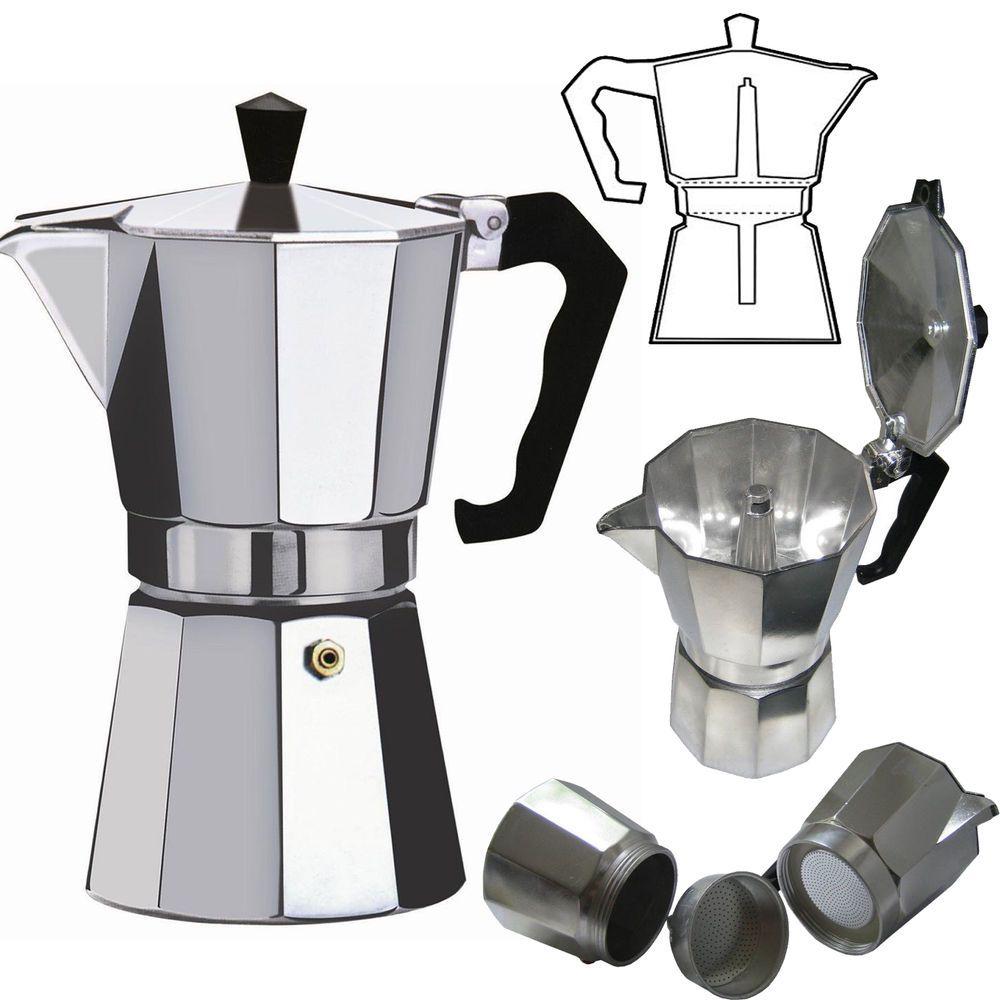 espresso machine pot