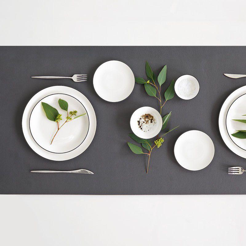 asa selection dinerord a table ligne noire kopen cookinglife. Black Bedroom Furniture Sets. Home Design Ideas