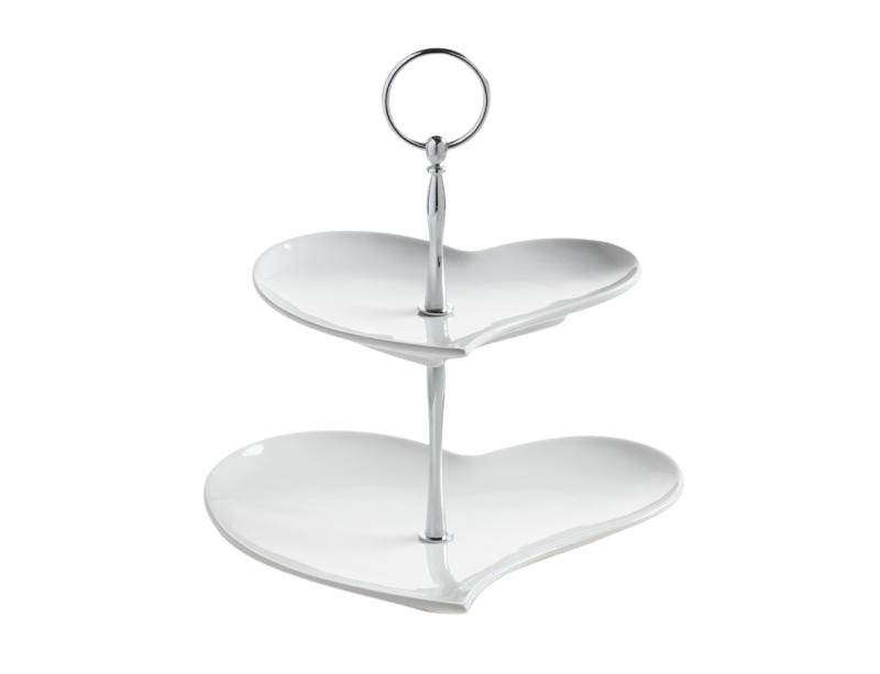 Maxwell & Williams White Basics, Etagere 2-delig