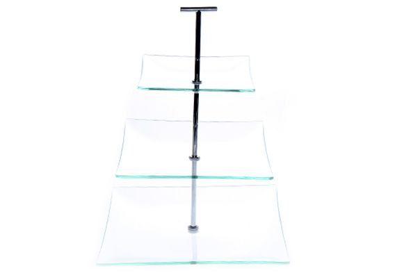 Etagère 3-laags glas