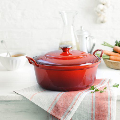 le creuset braadpan faitout 28 cm online kopen cookinglife. Black Bedroom Furniture Sets. Home Design Ideas