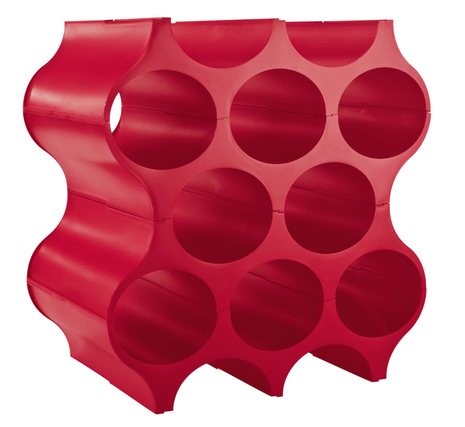 Koziol Set-Up Wijnrek 36 cm Raspberry Red