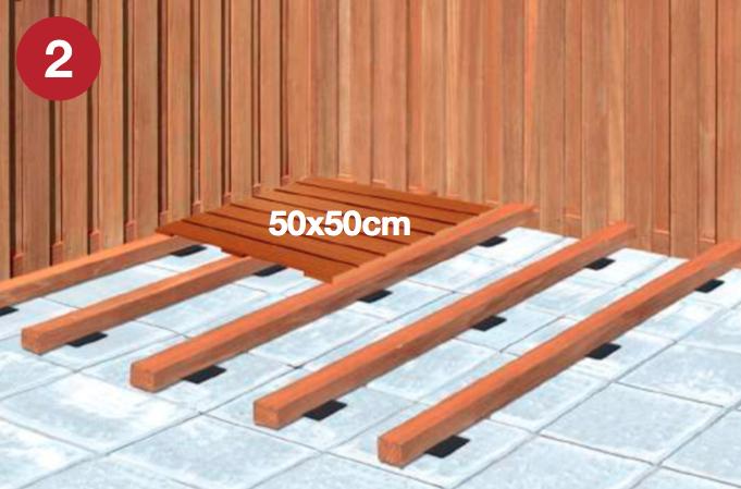Houten Tegels Balkon : Zelf houten tuintegels leggen houten terrastegels leggen tips