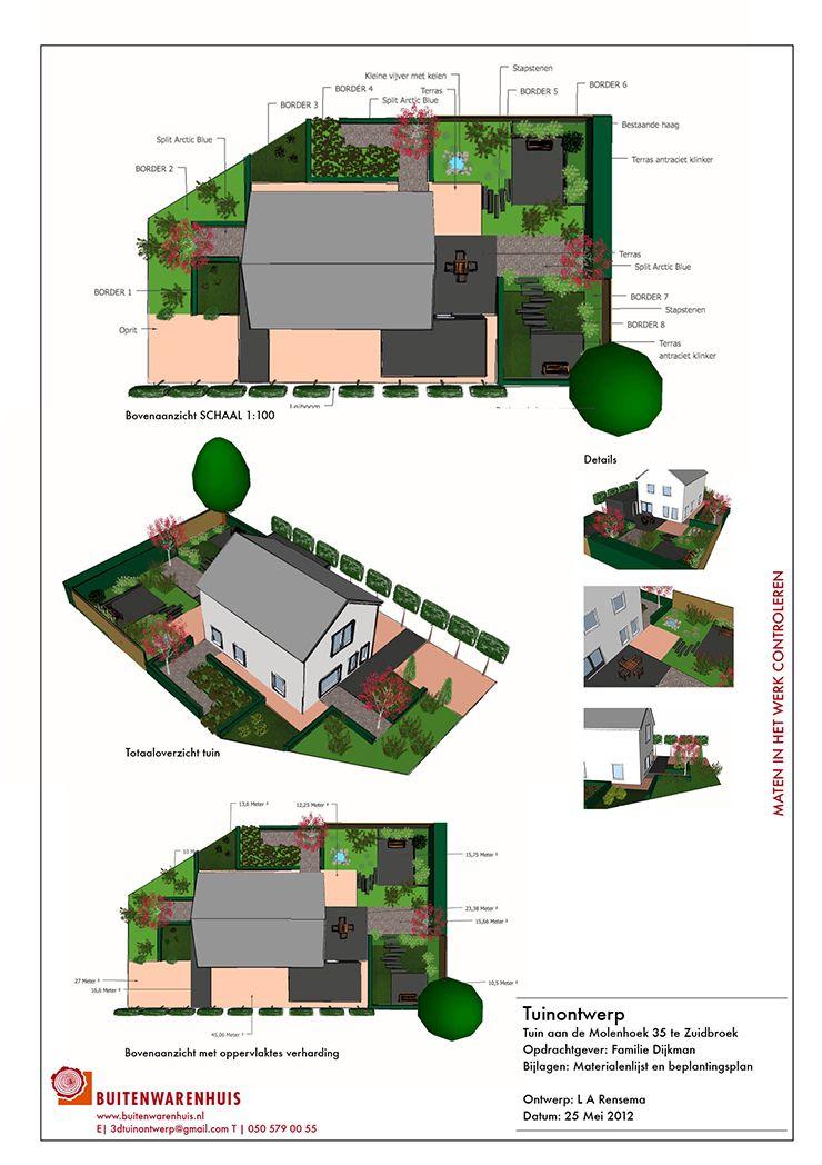Maatwerk 3d tuinontwerp laten maken door tuinarchitect for Tuinontwerp zelf