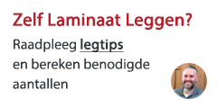 Laminaat leg tips en instructies leggen