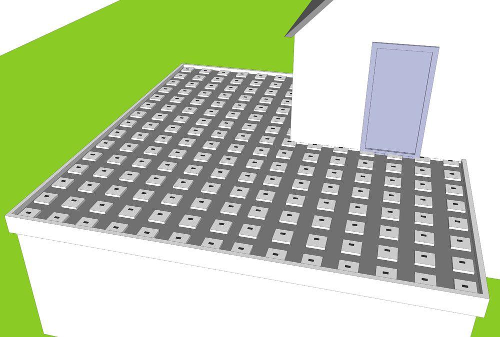 Houten Tegels Balkon : Houten dakterras maken op plat dak balkon vlonder bouwen