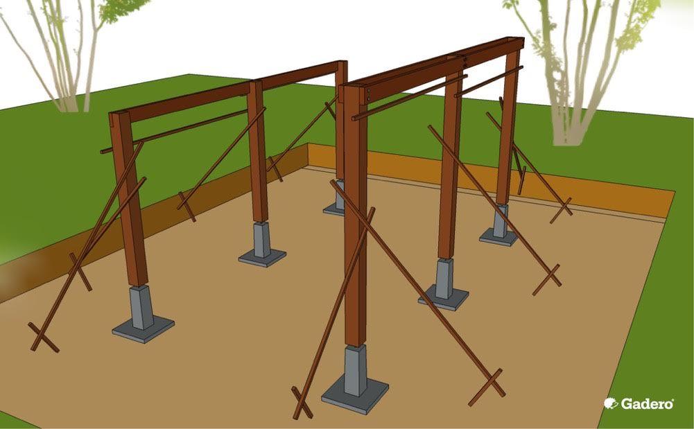 Kpaschuur timmeren bouwtekening