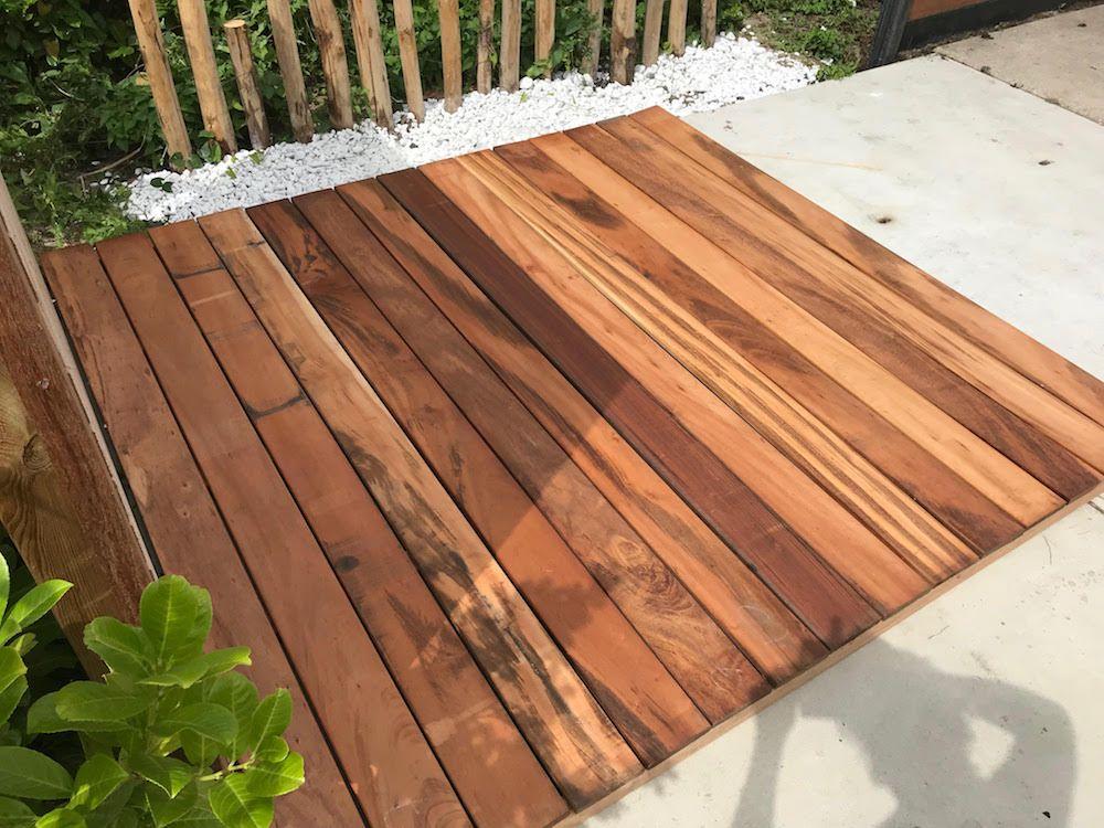 Tigerwood hout muiracatiara tijgerhout planken