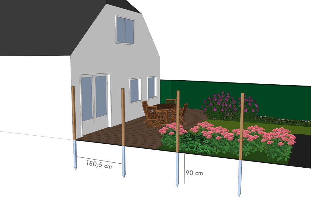 tuinschermen plaatsen