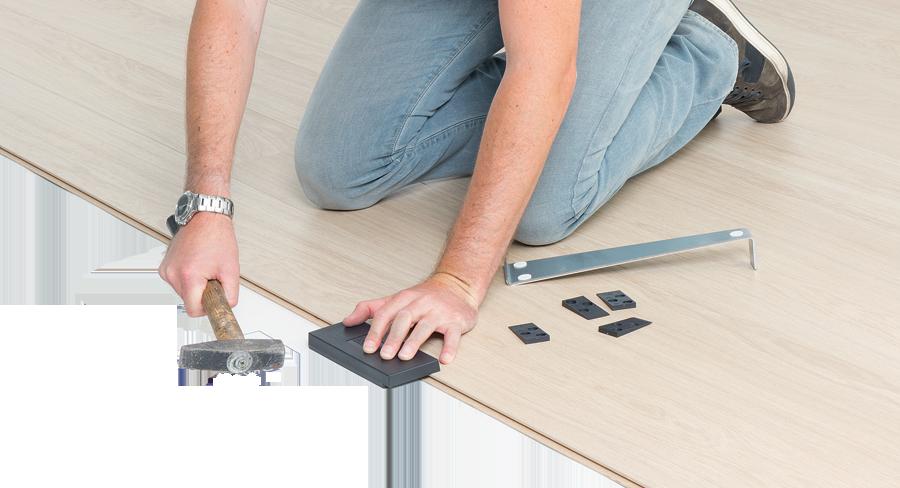 Zelf laminaat vloer leggen leginstructies tips materiaal bereken