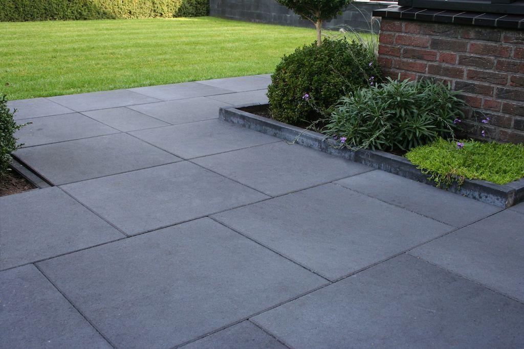 Tegels 50x50 Antraciet : Betontegels kopen goedkope beton terrastegel 50 x 50 60 x 60 cm