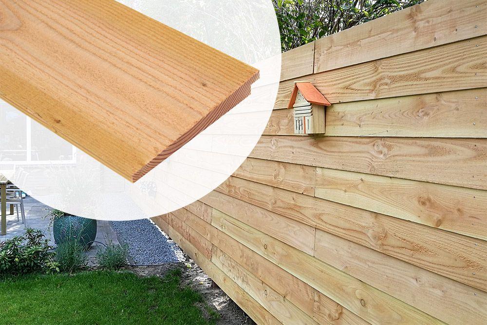 Mooie Houten Plank Voor Aan De Muur.Potdekselplank Lariks Douglas Onbehandeld 19 5 Cm Extra Breed
