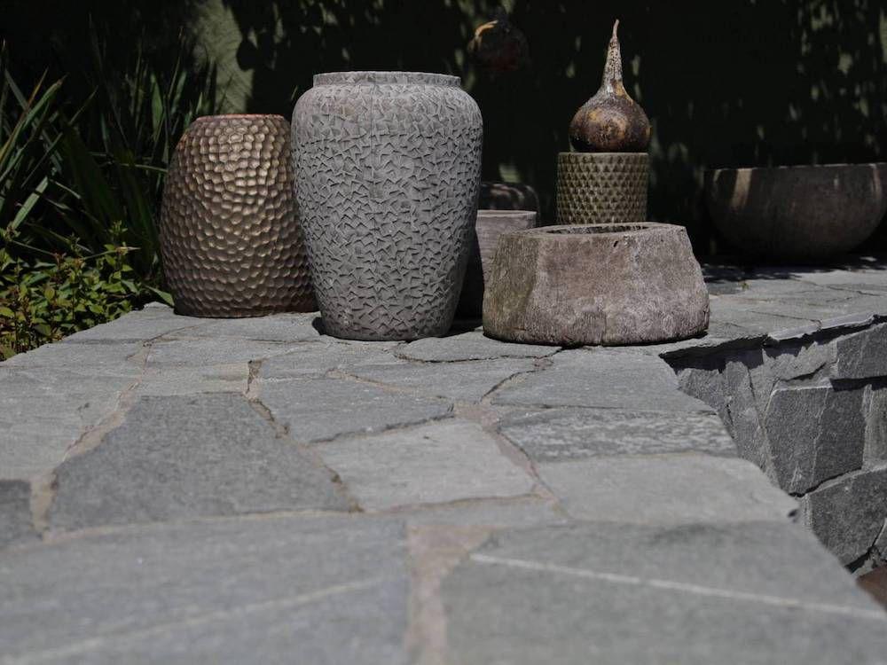 Natuursteen Tegels Tuin : Natuursteen tuintegels all in stones