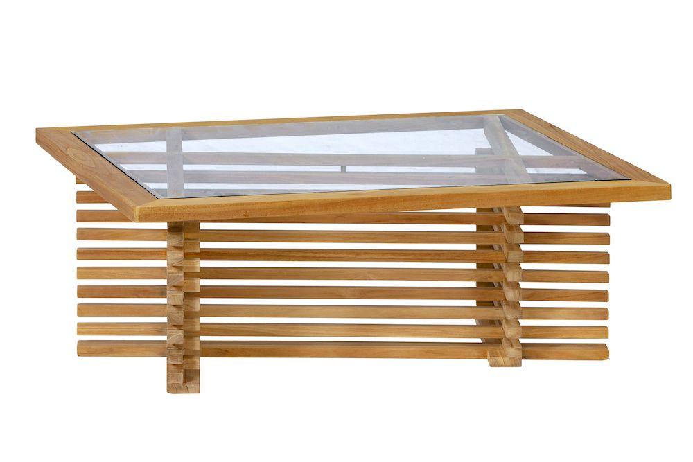 Tuintafel Met Glazen Tafelblad.Hardhouten Tuintafel Met Glasplaat Tom 100 X 80 X 39 Cm