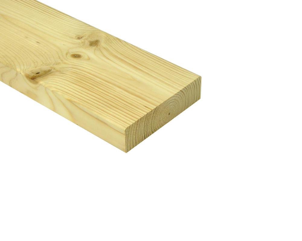 Balk vuren hout geschaafd 38 x 184 x 4200 mm sls vurenhout - X houten ...