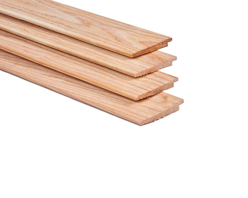 Planken Voor Aan De Wand.Lariks Douglas Potdekselplank Onbehandeld Zweeds Rabat Tot 4 M