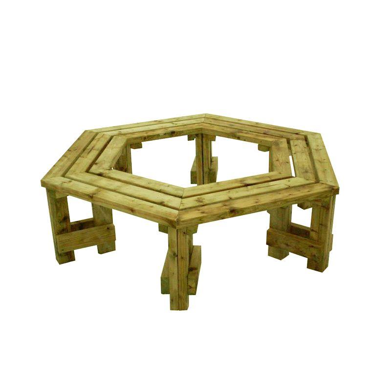 Houten boombank hardhout of ge mpregneerde boombanken - Een houten boom maken ...