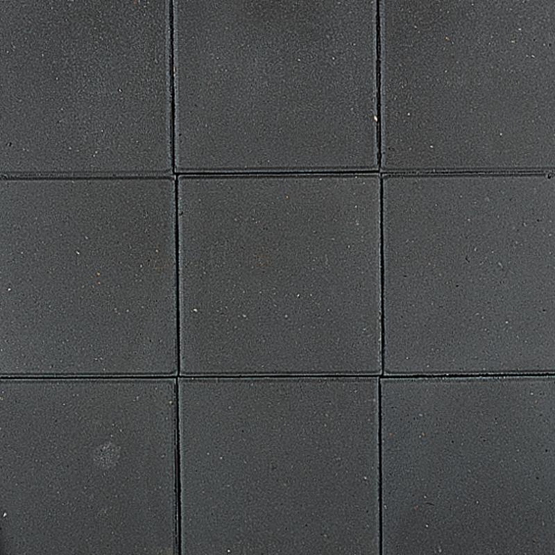 Goedkope Betontegels 30 x 30cm Zwart Stoeptegels 4.5 cm dikte