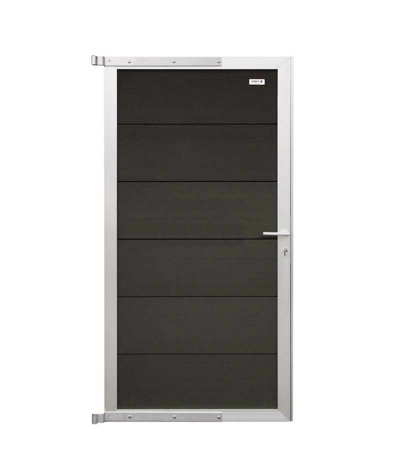 schuttingdeur composiet bouwmaterialen. Black Bedroom Furniture Sets. Home Design Ideas
