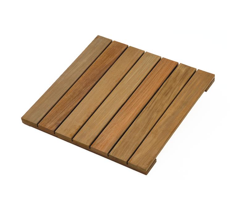 Ipe hardhout terrastegel 50 x 50 x 3 0 cm glad geschaafd tegel for Fenetre 50 x 50