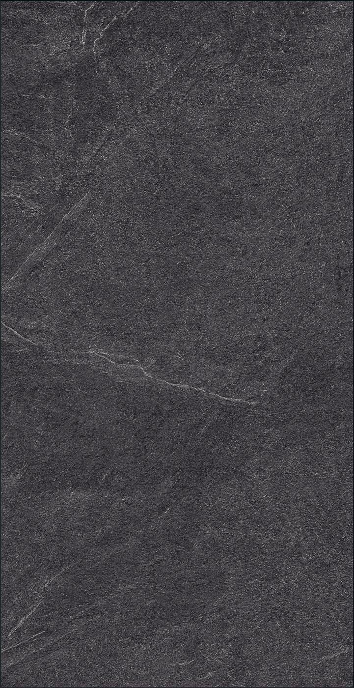 Floer Laminaat Tegel Leisteen Zwart Stenen Vloer Tegelvloer