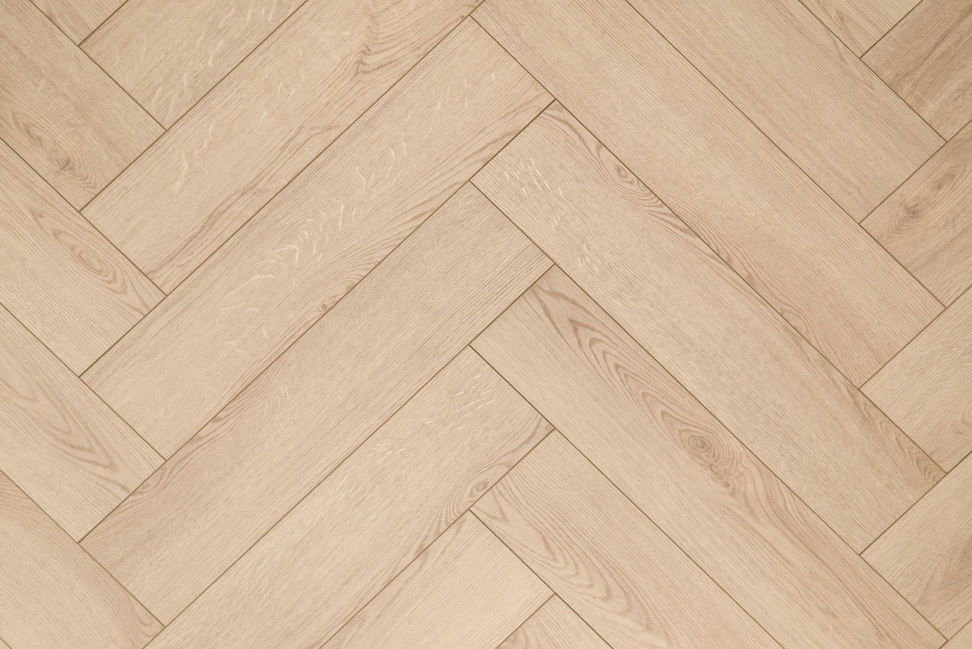 Fesca visgraat laminaat natuur eiken vloer patroon eik ac 6
