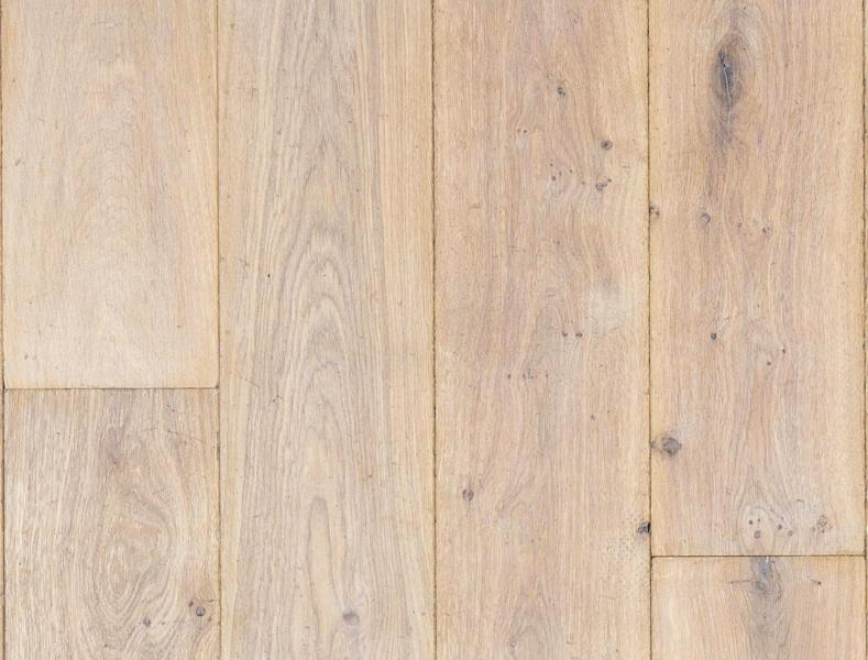 Eiken lamel parket verouderd wit geolied hout vloer duoplank 18