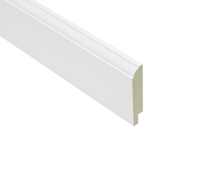 Plinten mdf wit en plak plinten voor vloeren gegrond dek lijst