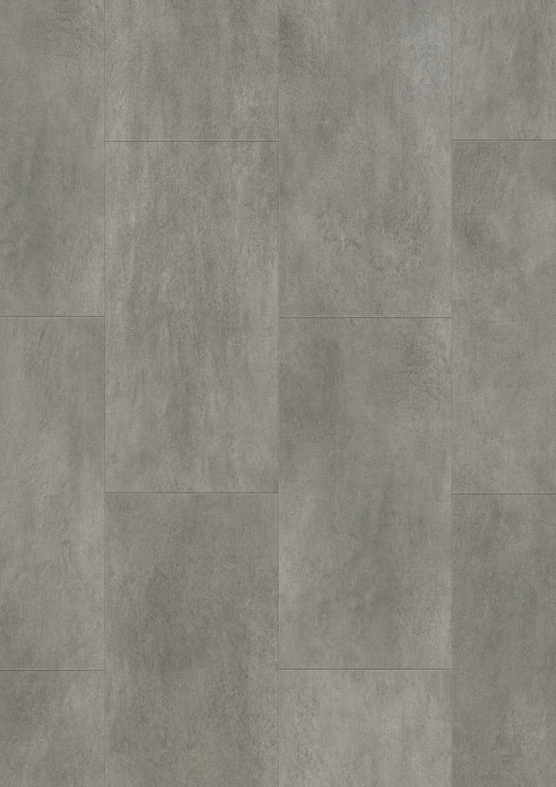 floer lux click vinyl vloer tegel beton grijs pvc steen