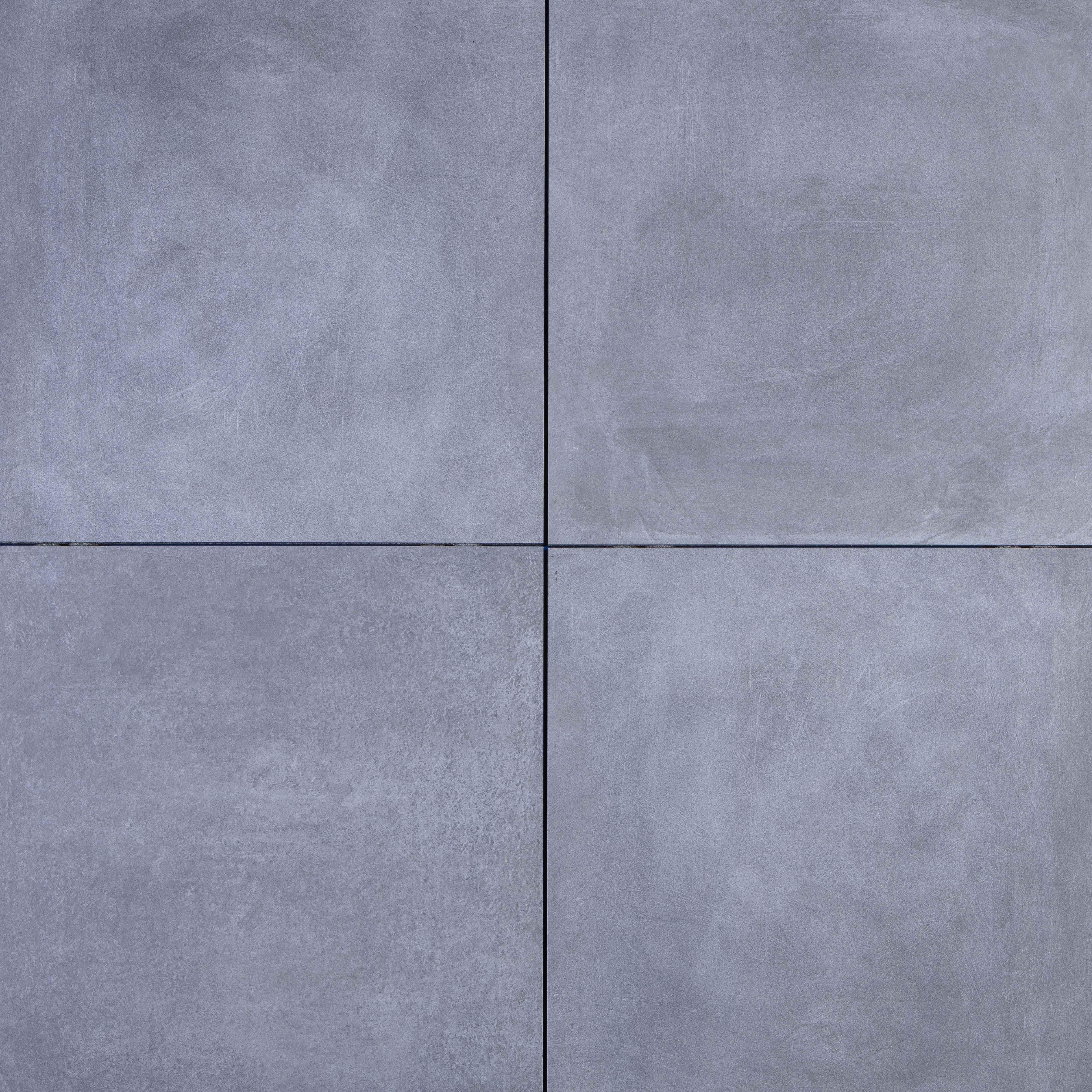 Keramische Tegels 80x80 Prijzen.Keramische Tegel Geoceramica Fumato Mezzo Rook Grijs 80x80 Dikte 4 Cm