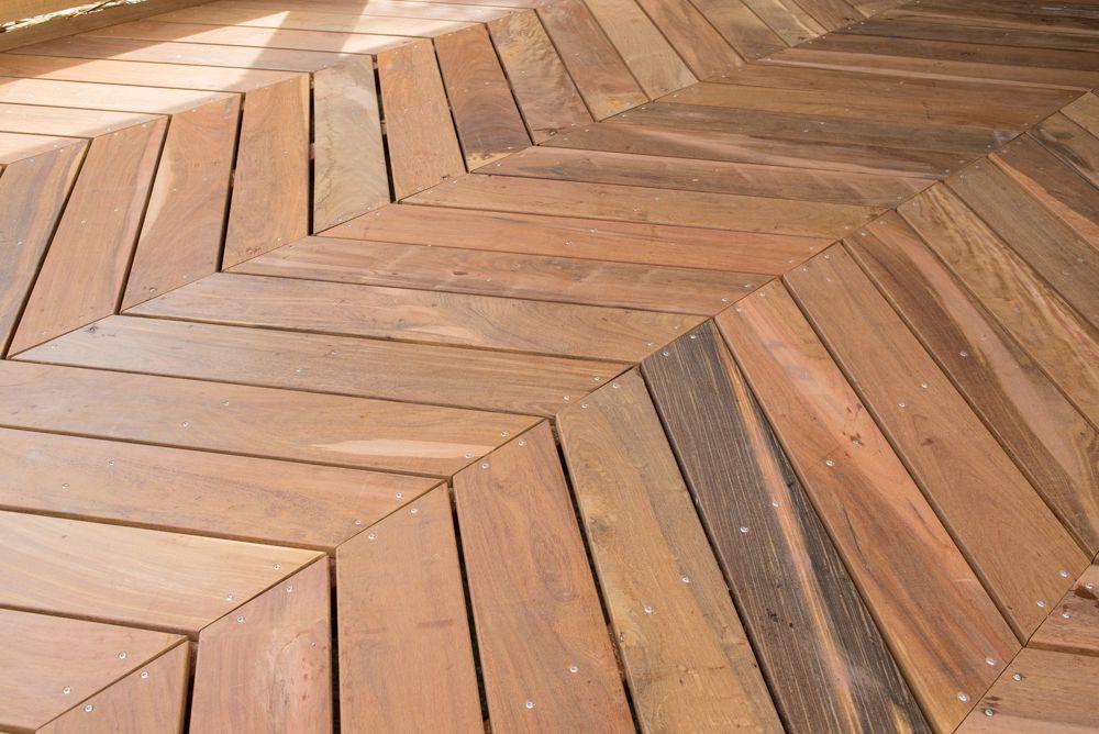 Hongaarse Punt Vloer : Hongaarse punt terrasplank ipe hardhout 2.1 x 14.5 x 90 cm glad