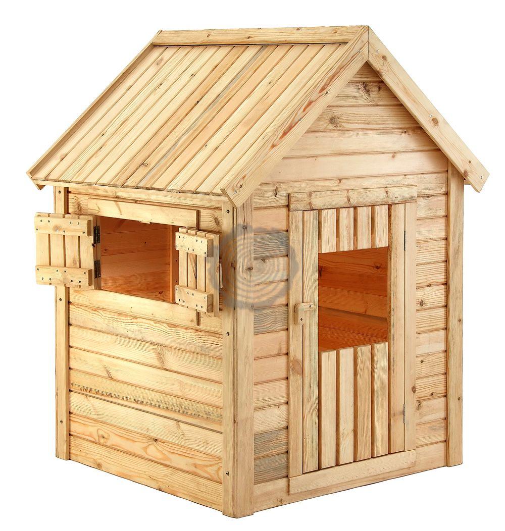 Houten speelhuis 120 x 120 x 155 cm cypresse hout elephant - X houten ...