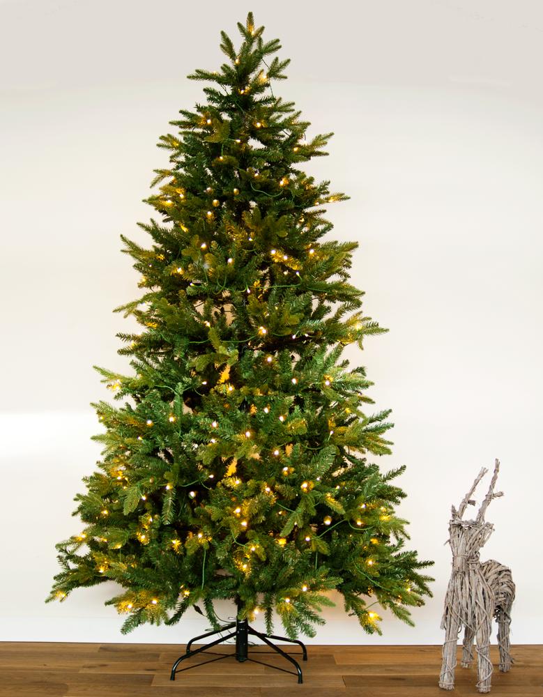 Kunstkerstboom Met LED verlichting 180 cm hoogte kopen
