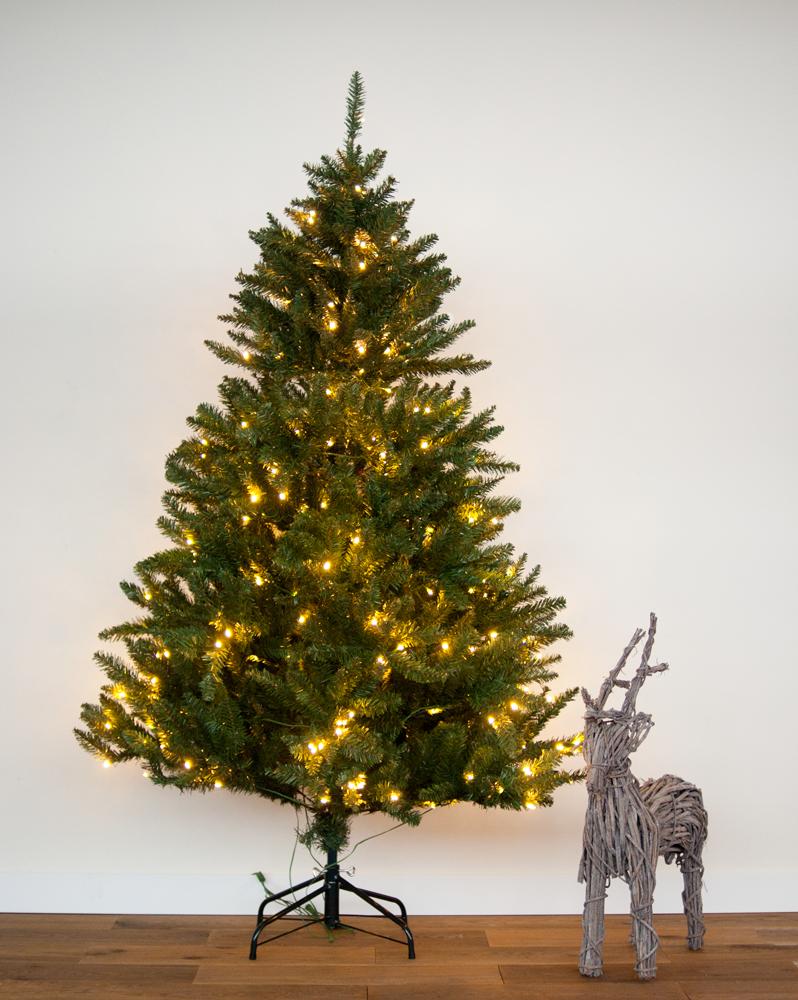 4 meter Kunstkerstboom Met LED lichtjes verlichting