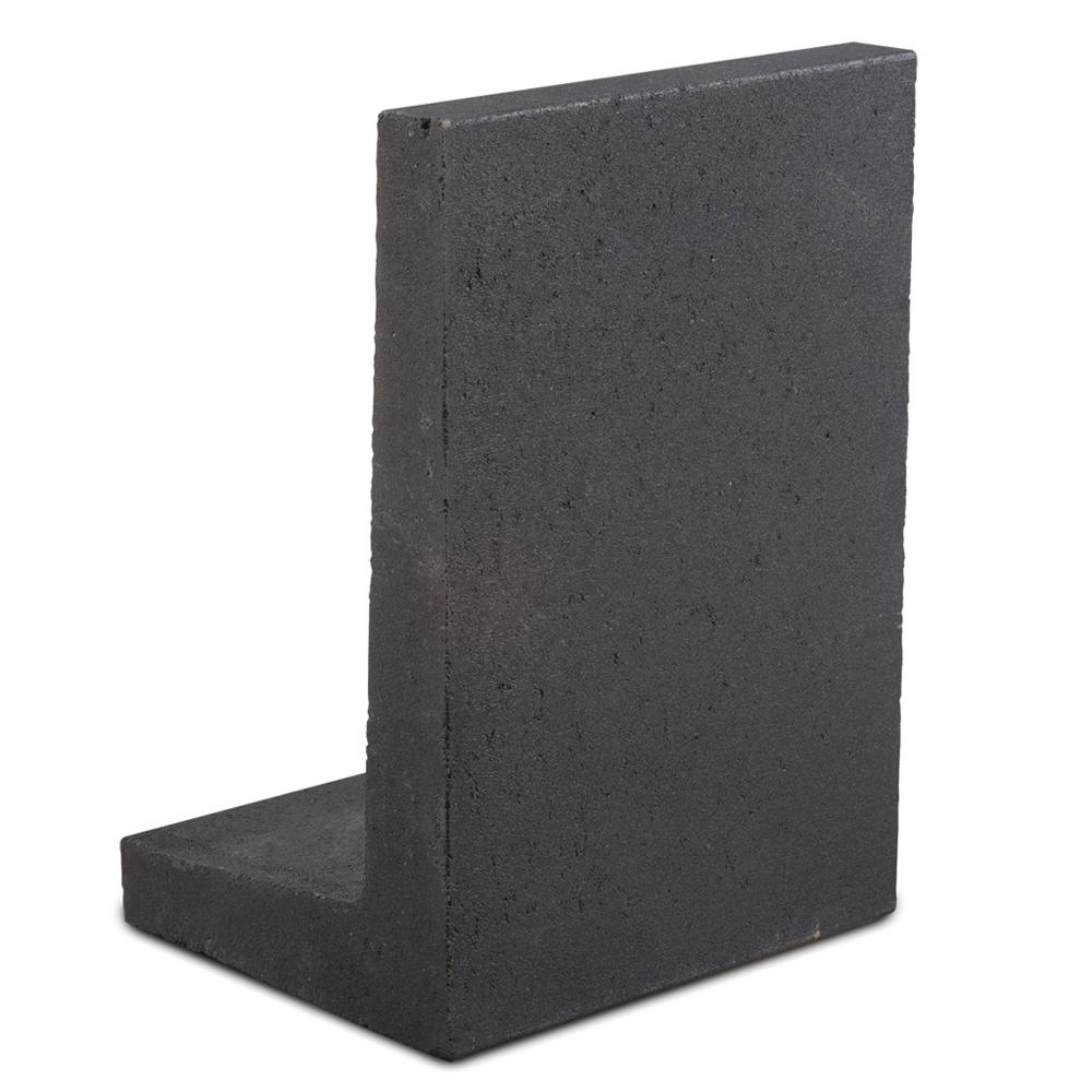 l elementen zwart 100 x 40 x 50 cm grondkering beton. Black Bedroom Furniture Sets. Home Design Ideas