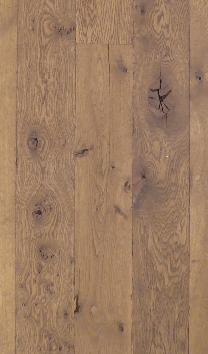 Gerookt eiken hout parket vloer zwaar roken lamel wit geolied