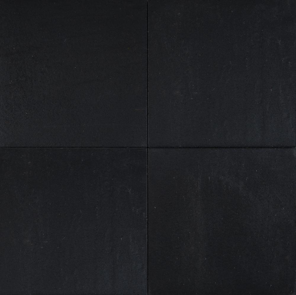 Terras tegel antraciet 60x60 cm betontegel met leisteen print - Tegel voor geloofwaardigheid ...