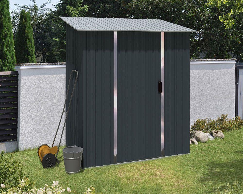Metalen Opbergkasten Garage : Metalen tuinkast titan cm stalen kast voor tuin