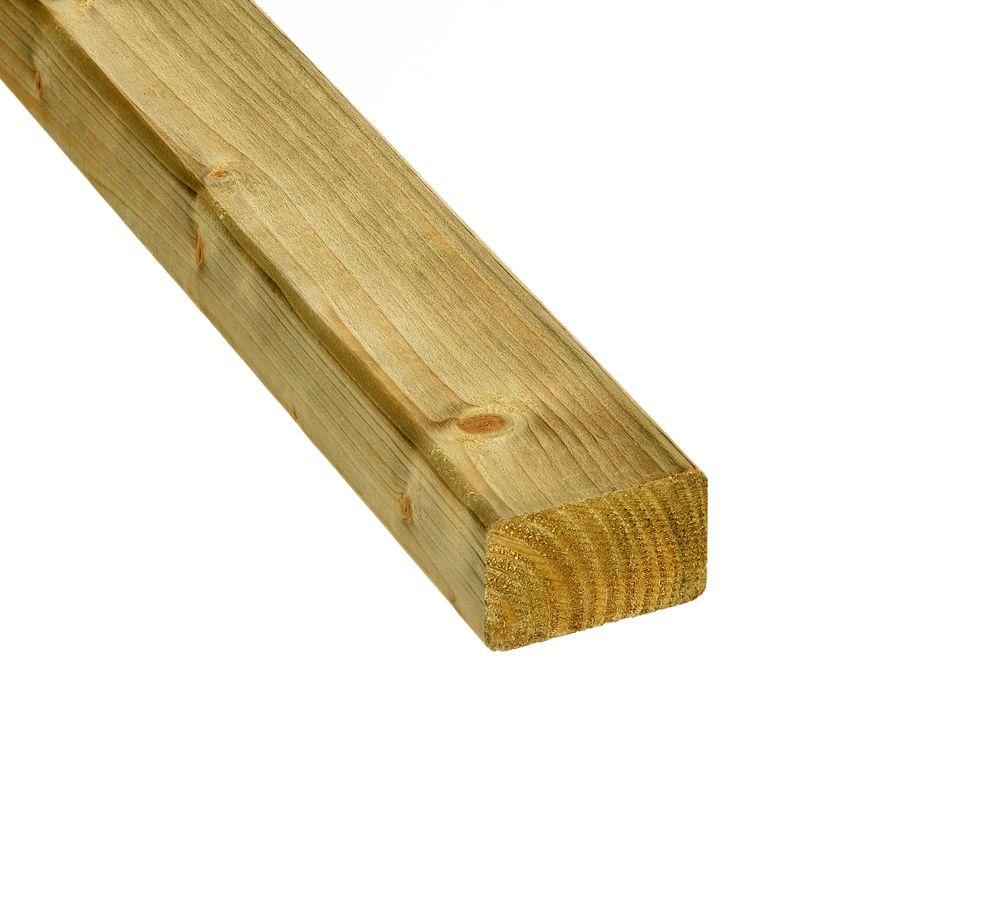 Ge mpregneerde vuren balk 45 x 70 mm elephant regel 240 480 cm - Opruimen houten balk ...