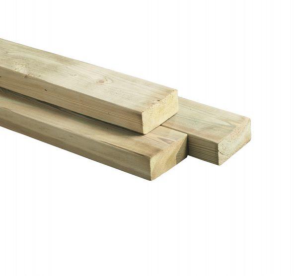 Balk ge mpregneerd hout 4 5 x 7 cm ligger - Opruimen houten balk ...